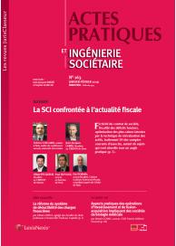 Actes pratiques et ingénierie sociétaire (vente au numéro)
