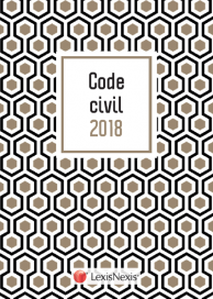 Code civil 2018 - Motif Gold