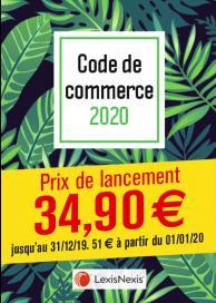 Code de commerce 2020 - Tropical