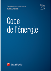Code de l'énergie 2017