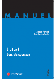 Droit civil contrats spéciaux