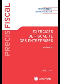 Exercices de fiscalité des entreprises 2019/2020