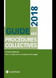 Guide des procédures collectives 2018