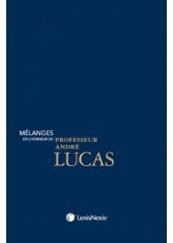 Mélanges en l'honneur du Professeur André Lucas