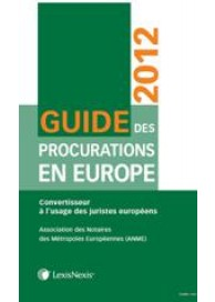 Guide des procurations en Europe 2012