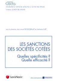 Les sanctions des sociétés cotées? Quelles spécificités ? Quelle efficacité ?