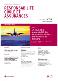 Responsabilité civile et Assurances