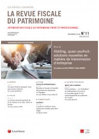 La Revue Fiscale du Patrimoine (vente au numéro)