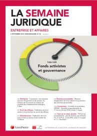 La Semaine Juridique - Entreprise et Affaires