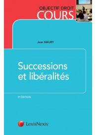Successions et libéralités