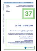 La SAS : 25 ans après