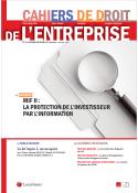 Cahiers de droit de l'entreprise