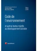 Code de l'environnement 2018