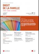 Droit de la famille (vente au numéro)