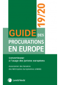 Guide des procurations en Europe 2019/2020