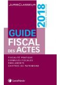 Guide fiscal des actes 1er semestre 2018