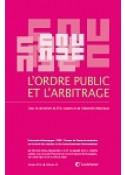 L'ordre public et l'arbitrage
