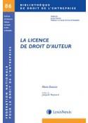 La licence de droit d'auteur
