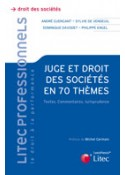 Juge et droit des sociétés en 70 thèmes