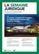 La Semaine Juridique Notariale et Immobilière