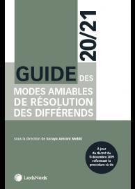 Guide des modes amiables de résolution des différends 2020/21