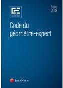 Code du géomètre-expert 2019