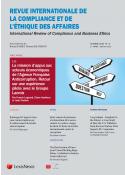 Revue Internationale de la Compliance et de l'éthique des affaires